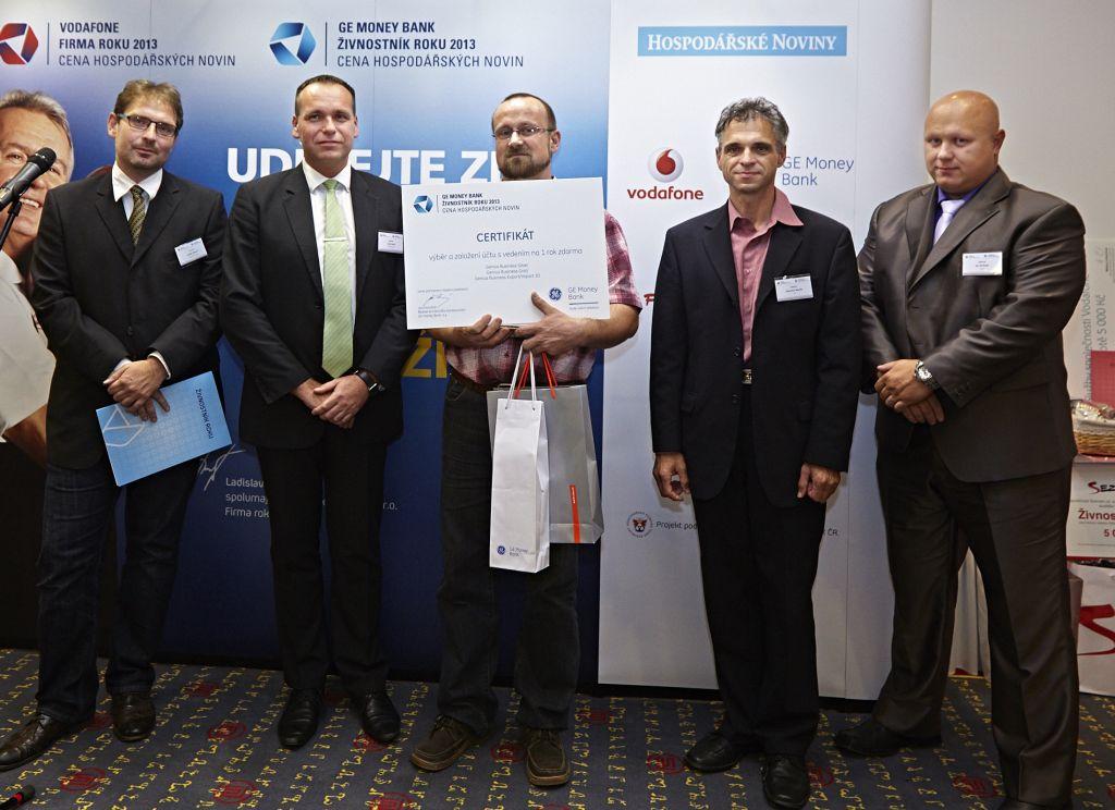 Daniel Ramík - soutěž Živnostník roku 2013.